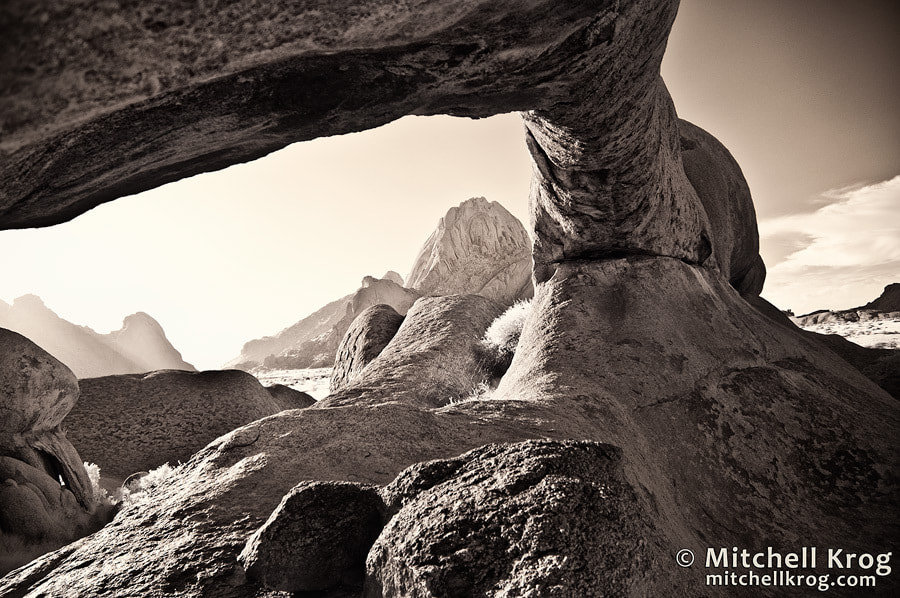 Photograph The Matterhorn of Africa - Spitzkoppe in Infrared by Mitchell Krog on 500px