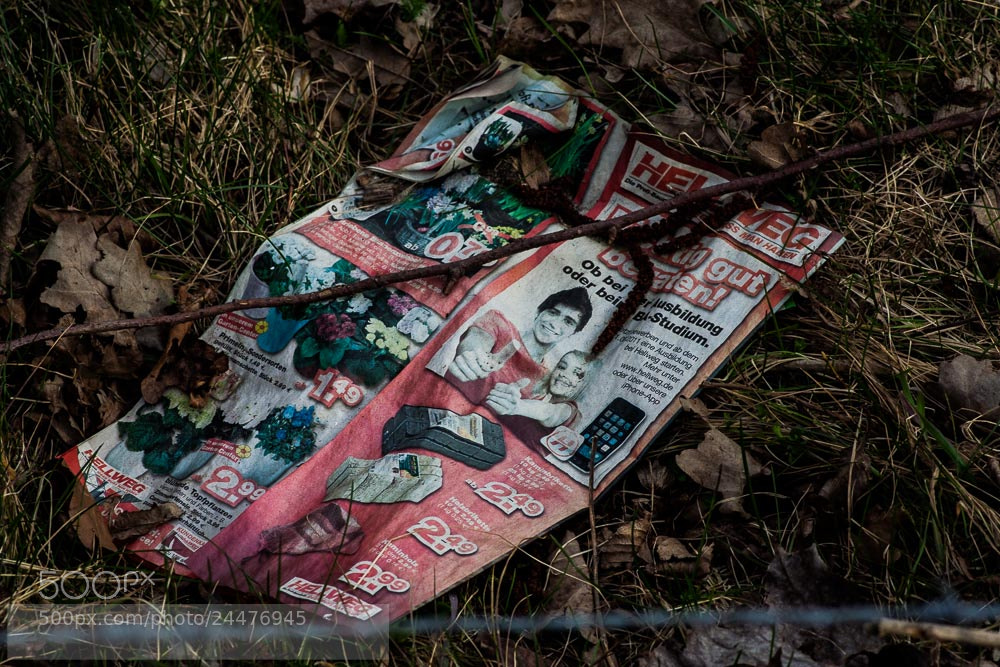 Photograph throwaway 2 by Susanne Menke on 500px