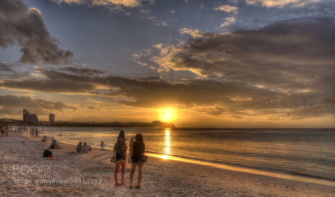 Photograph Sunset over Tumon Bay Guam by Michael Barbier on 500px