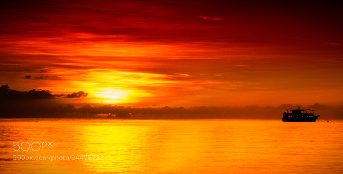 Photograph Koh Tao Sunset by Richard Thoralf on 500px