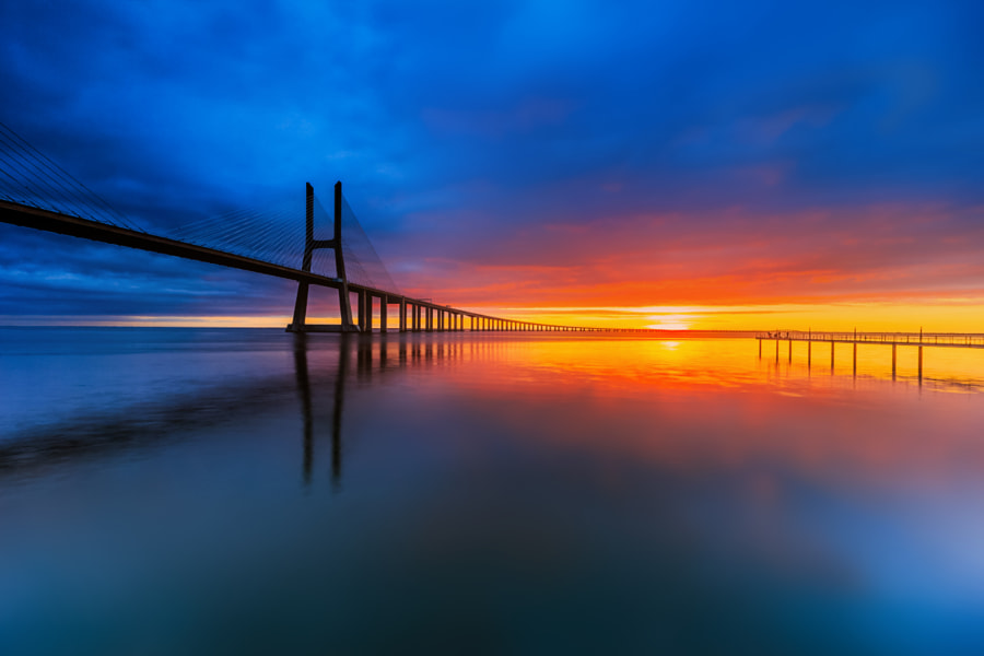 ~Blu moment~ by David Gomes on 500px.com