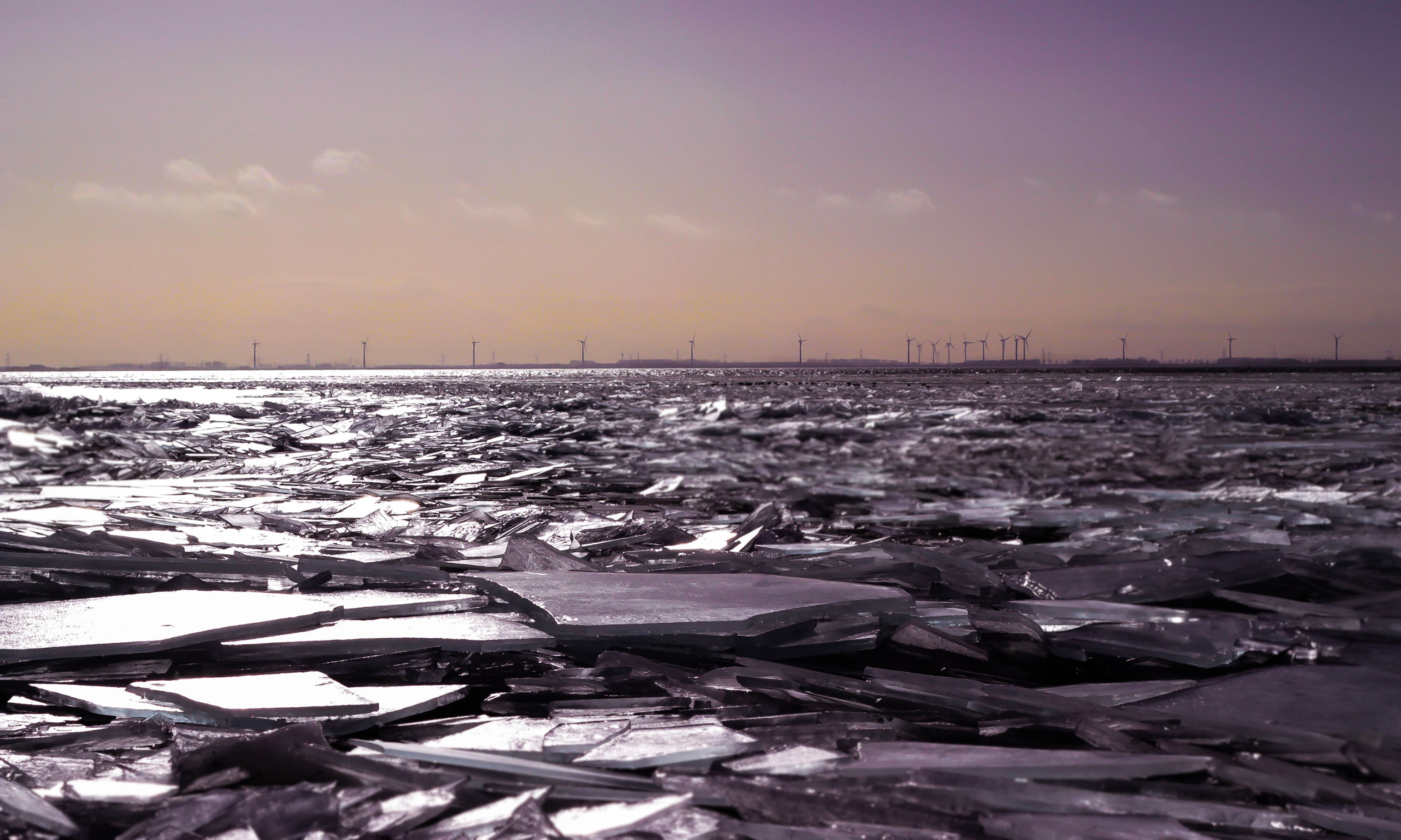 Photograph Drifting Ice in Holland by Nathalie  on 500px