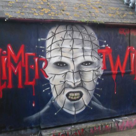 Hellraising Glimmer Twin Graffiti, Fujifilm FinePix JV250