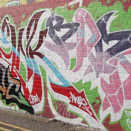 Graffiti Of Many Colours, Fujifilm FinePix JV250