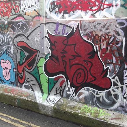 Ruddy Brown Profile Graffiti, Fujifilm FinePix JV250