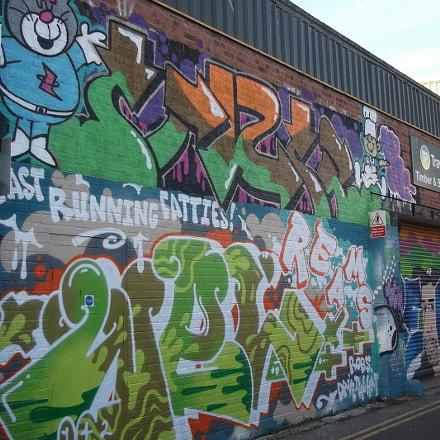 Fast Running Fatties Graffiti, Fujifilm FinePix JV250