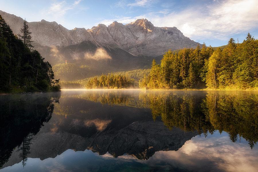 A Calm Morning at the Lake, автор — Daniel F. на 500px.com