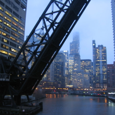 The Chicago River and, Canon POWERSHOT A510