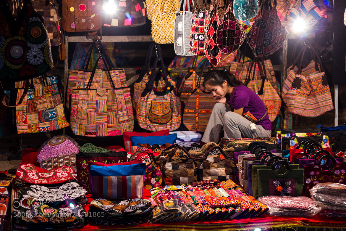 Photograph Luang Prabang night market by Ahmed Saad on 500px