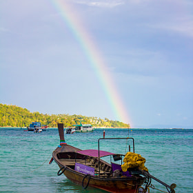 phi phi island by Ahmed Saad (Saadbishi)) on 500px.com