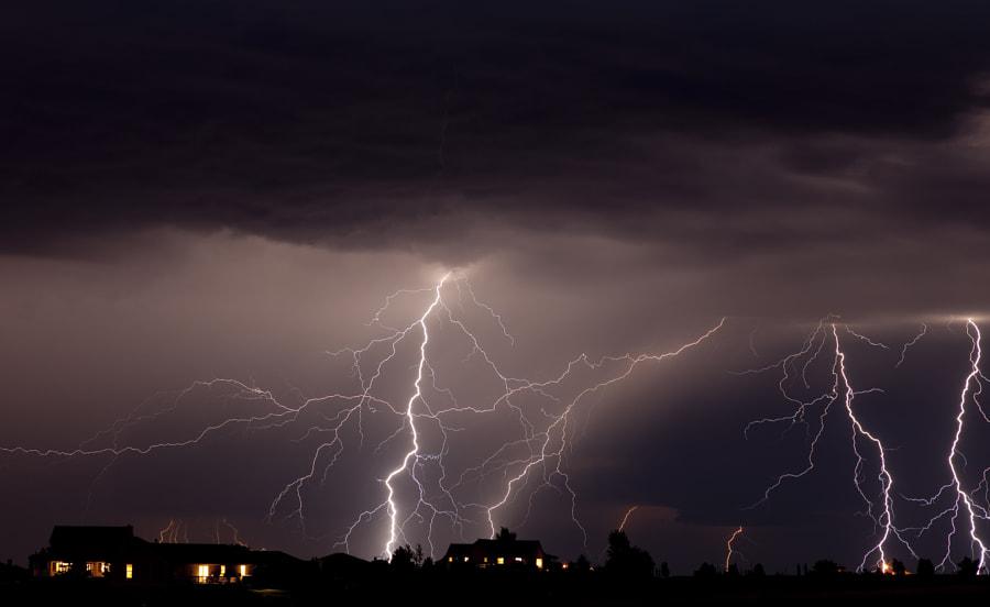 Colorado Electricial Storm, автор — Roger Hill на 500px.com