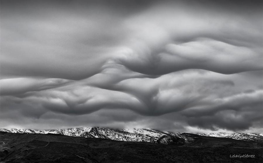 Clouds, автор — Lola Gutiérrez на 500px.com