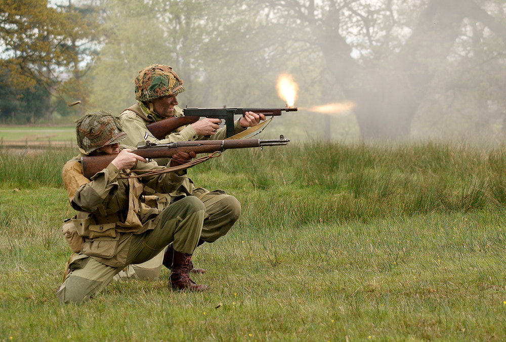Photograph Front Line Action by Geoffrey Baker on 500px
