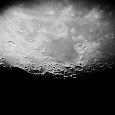 Mare Humorum and Craters, Canon POWERSHOT D30