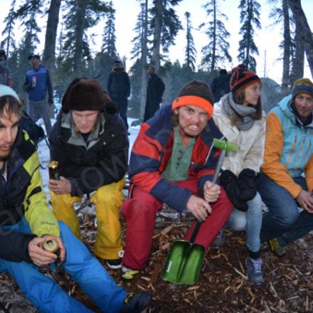 Gulmarg Snowboarding, Nikon D7000