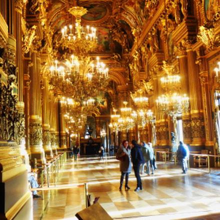 Op ra Garnier, Paris, Nikon COOLPIX S5300