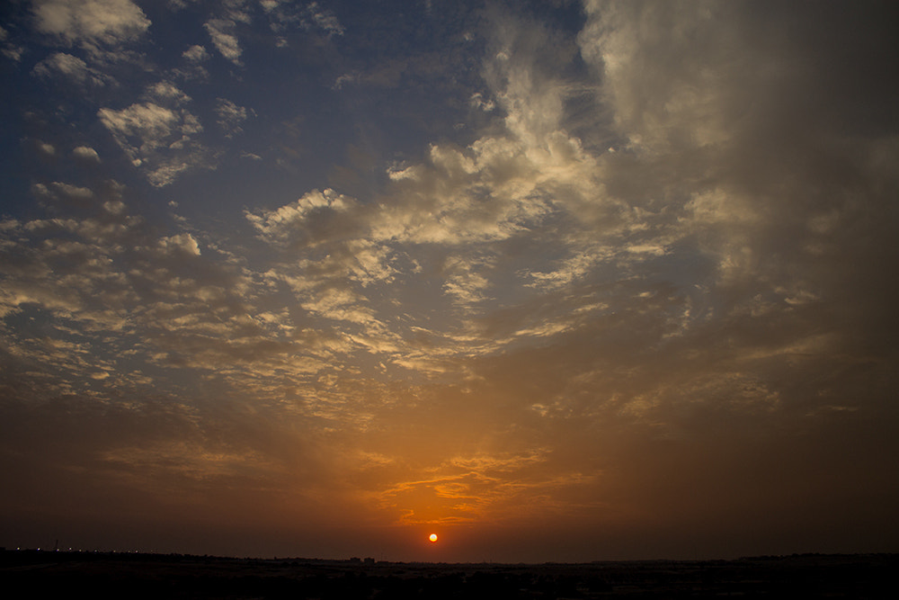 Photograph Cloudy Sunset by Isa A. Ebrahim on 500px