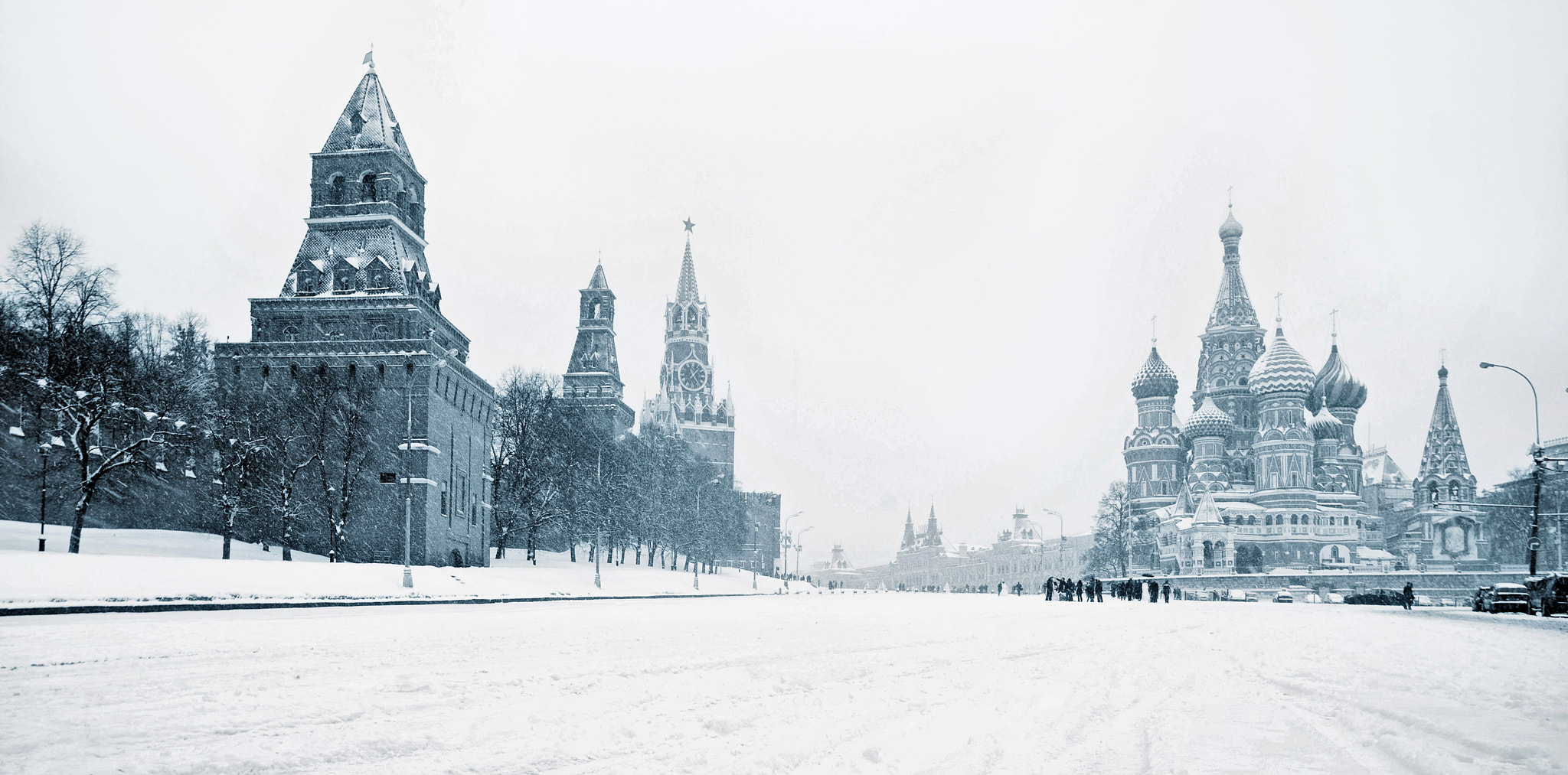 Photograph Russia. Moscow. Snow. by Oleg Borisov on 500px