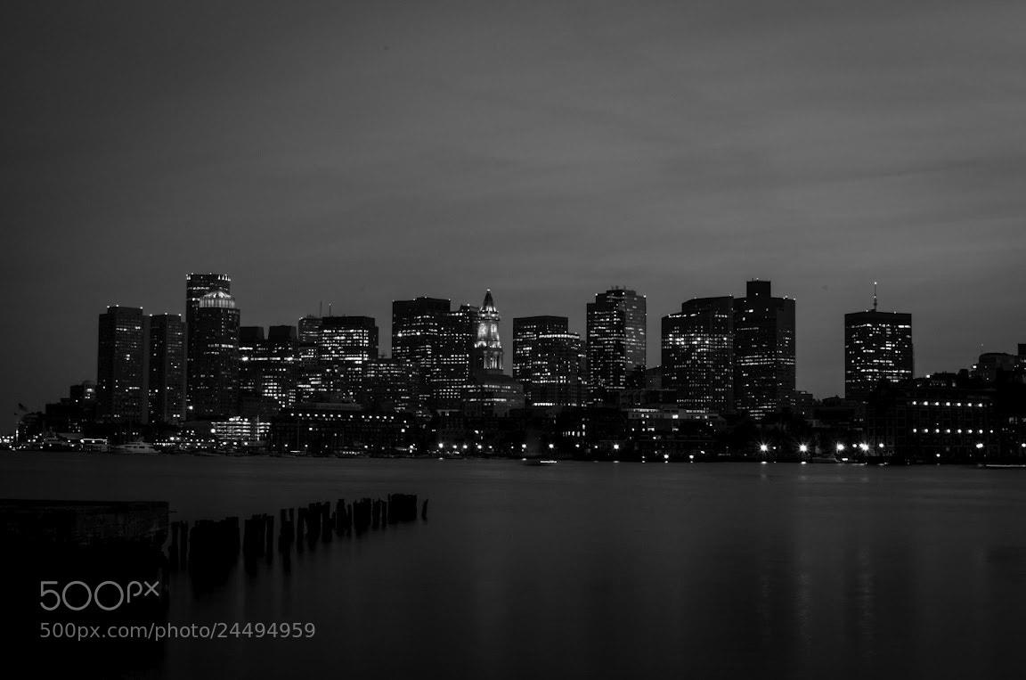 Photograph Skyline boston 2 by Seth Morabito on 500px