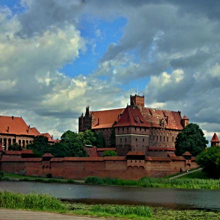 Malbork castle., Nikon COOLPIX L3