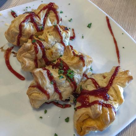 Dumplings de Ropa Vieja.