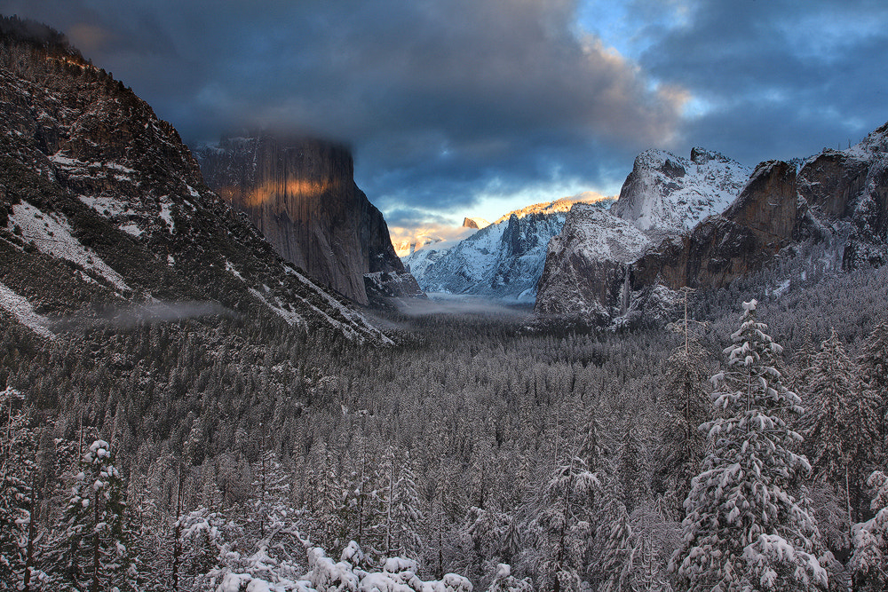 Photograph Tunnel View Glow by Alan Chan on 500px