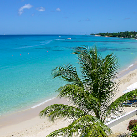 Barbados Beach at Fairmont, Nikon E8700