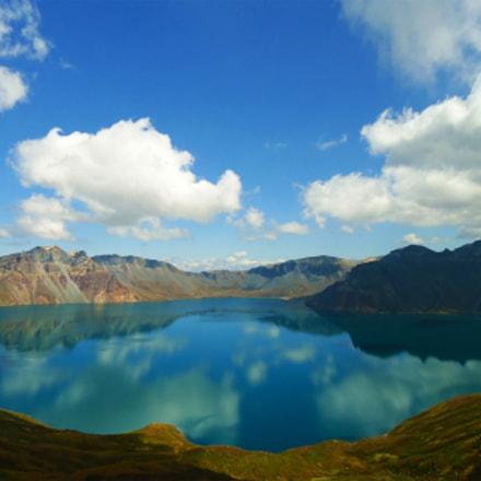 Changbai Mountain Tianchi Lake, Sony DSC-W320