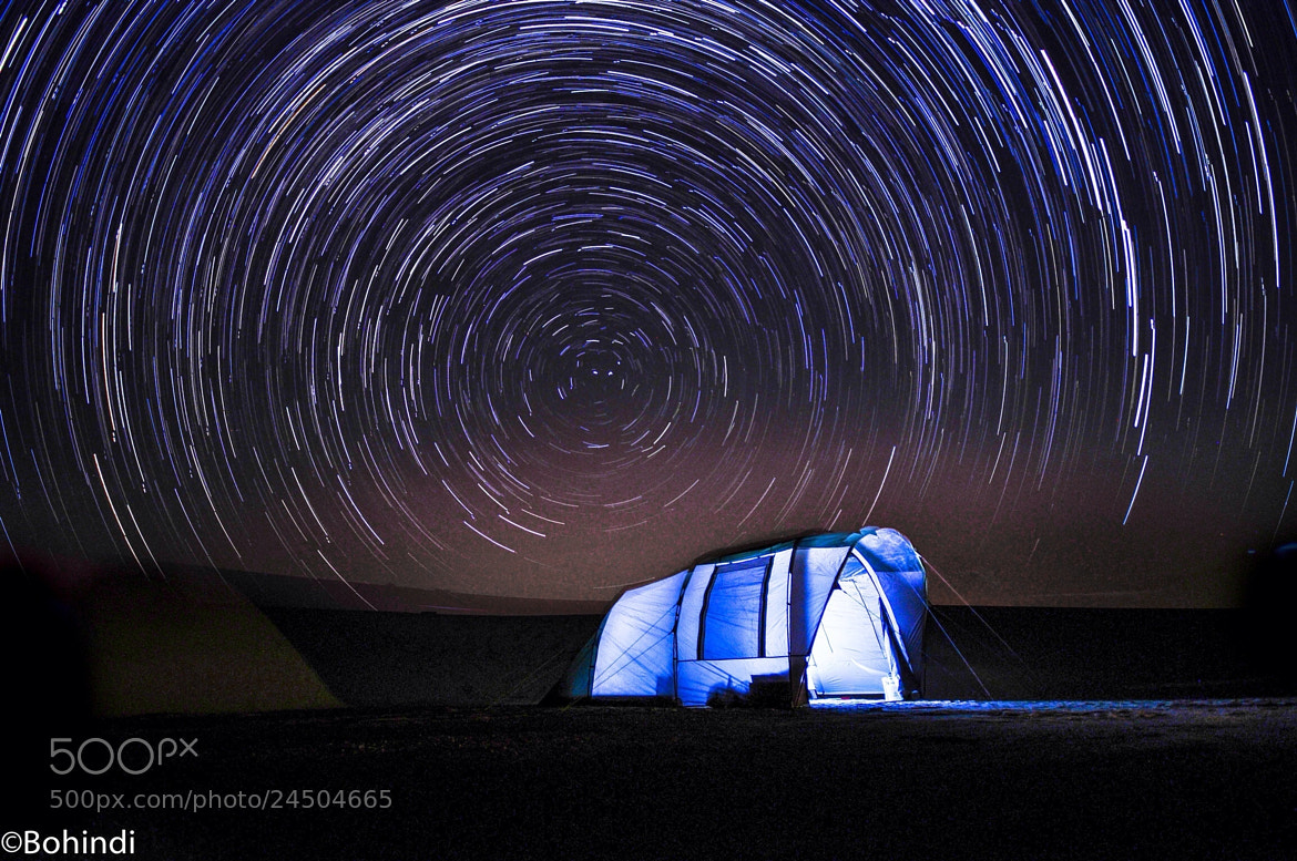 Photograph STAR TRAiL by bohindi abdulla on 500px