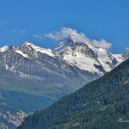 Die Berge, Canon POWERSHOT A400