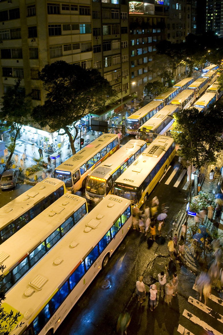 Photograph Traffic Jam at Reveillon in Rio de Janeiro by Bert Kohlgraf on 500px