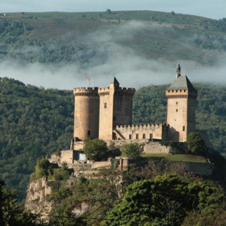 Château de Foix, Canon EOS 1100D, Canon EF-S 18-135mm f/3.5-5.6 IS