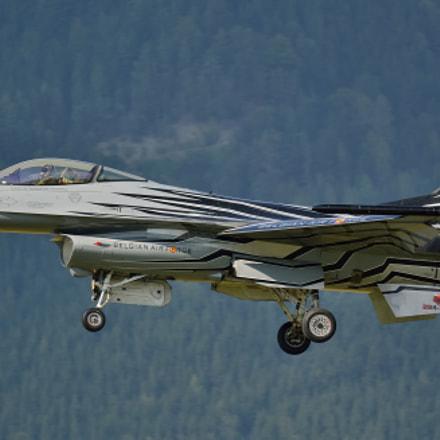 Begian Airforce F-16 Fighting, Nikon D7000, Sigma APO 100-300mm F4 EX IF HSM