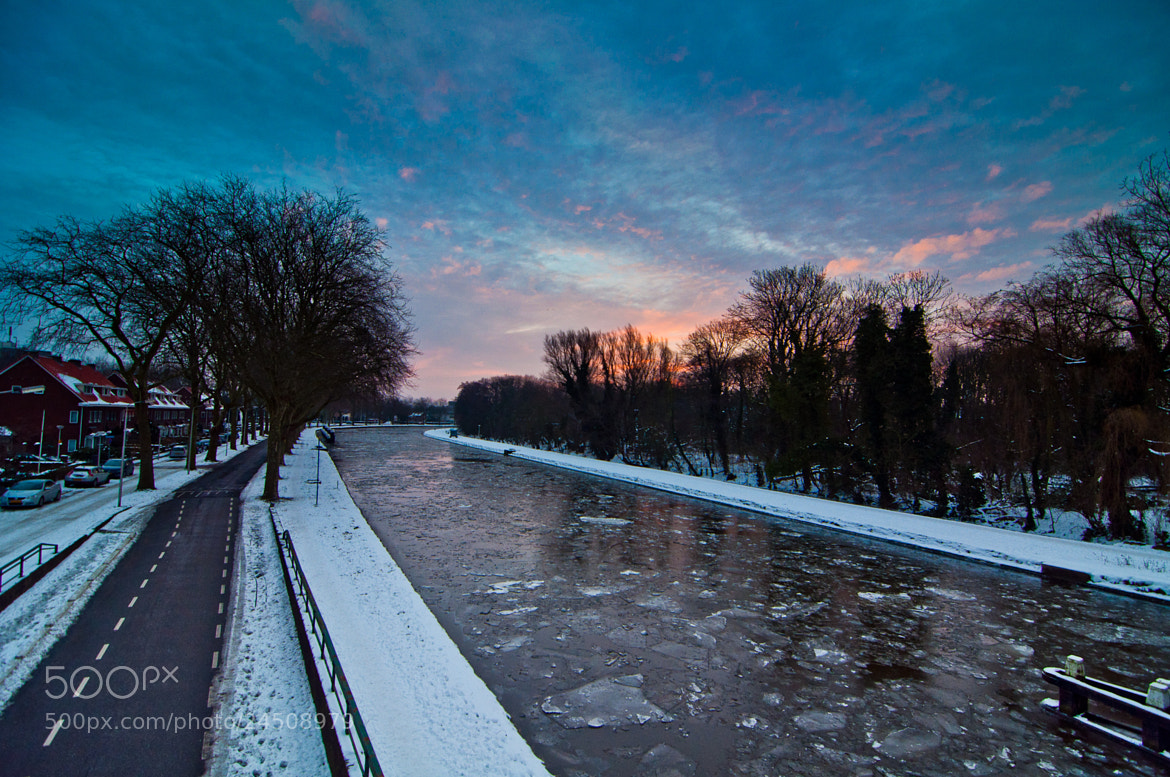 Photograph Icy canal by LiangJin Lim on 500px