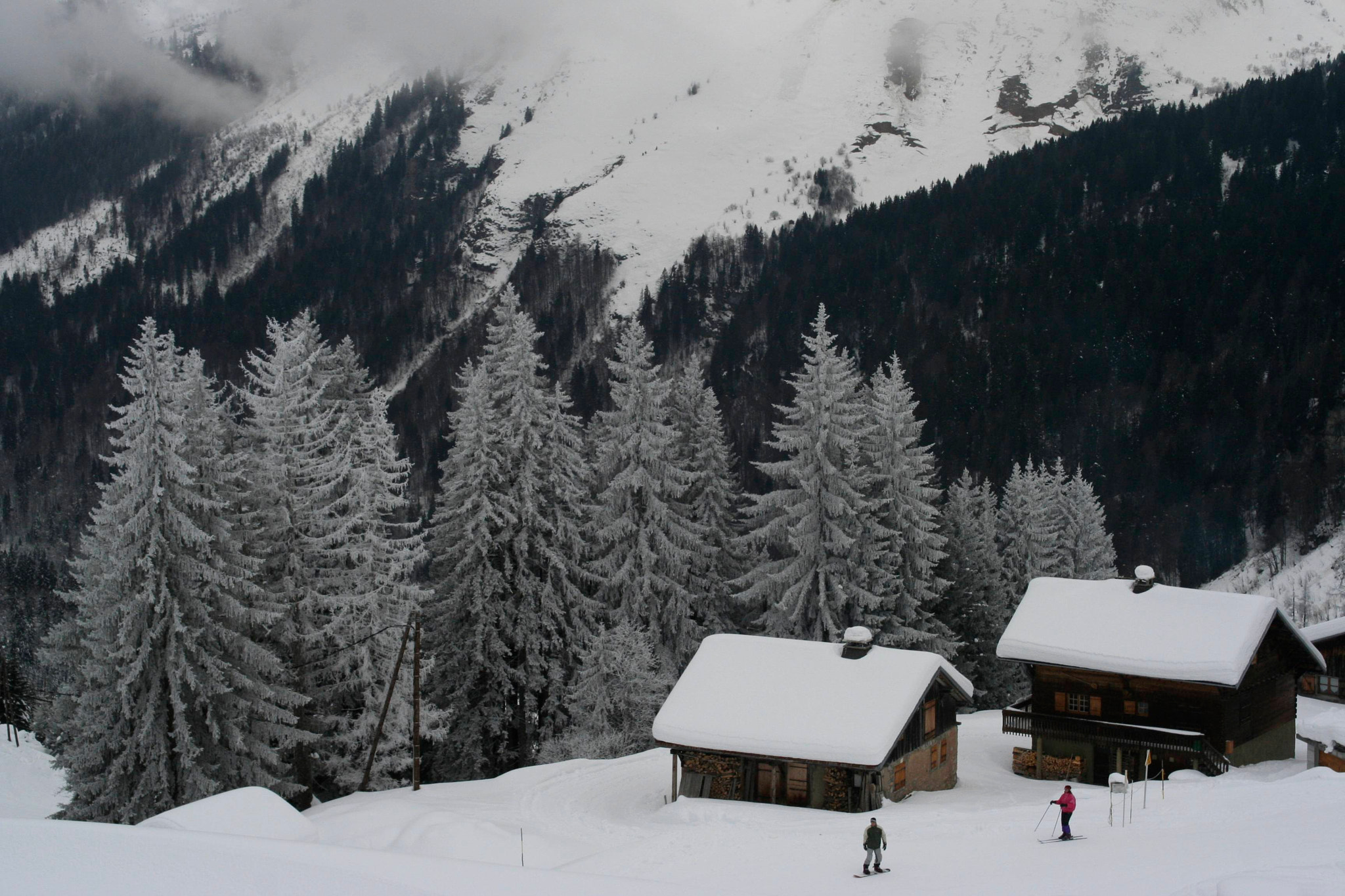 Photograph Grey winter day in Montriond, France by Alexis Penot on 500px
