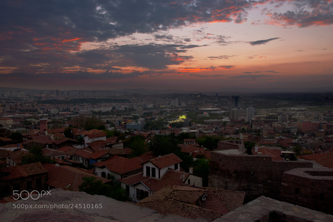 Photograph Ankara from the Castle by Turgut Özben on 500px