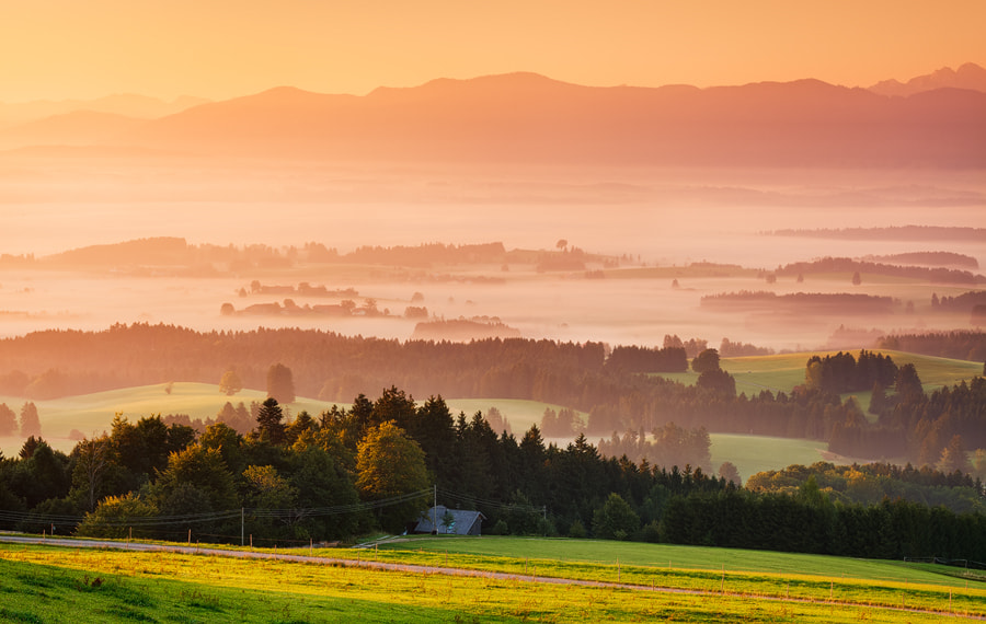 Photograph Glorious Morning by Michael  Breitung on 500px
