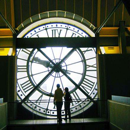 The clock,, Canon POWERSHOT A80