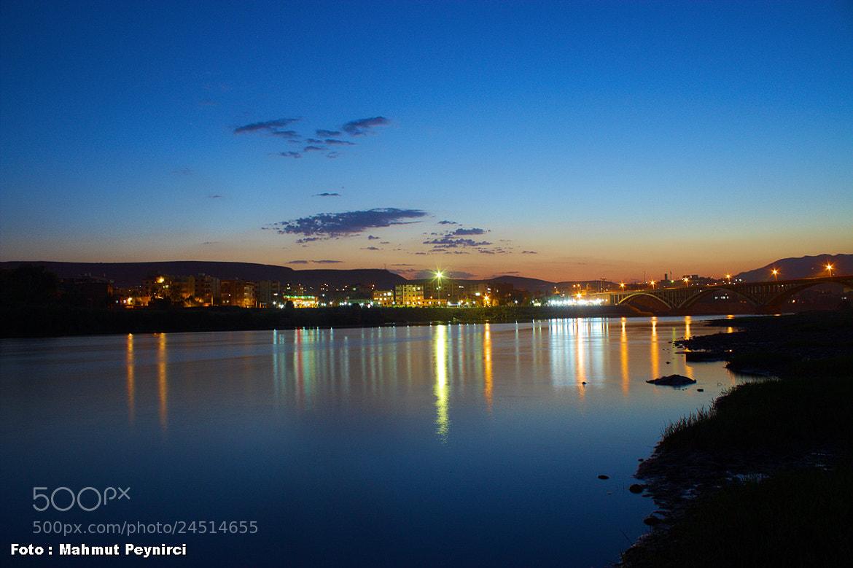 Photograph Cizre, Dicle ve Akşam by Mahmut Peynirci on 500px