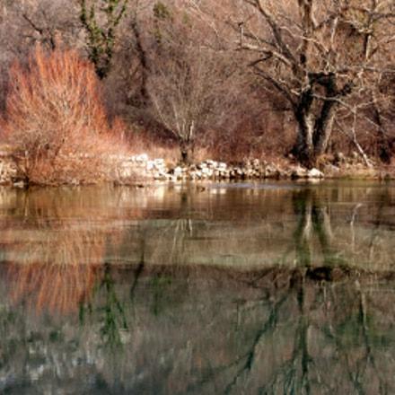 Vrlika Croatia. River Cetina riverhead