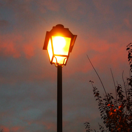 Old lamp, Fujifilm FinePix A820