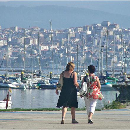 Vigo desde Moaña, Nikon COOLPIX S4