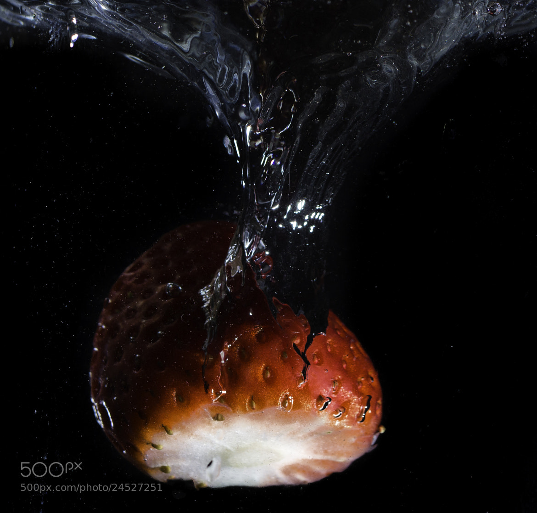 Photograph Strawberry Splash by Mike Swiech on 500px