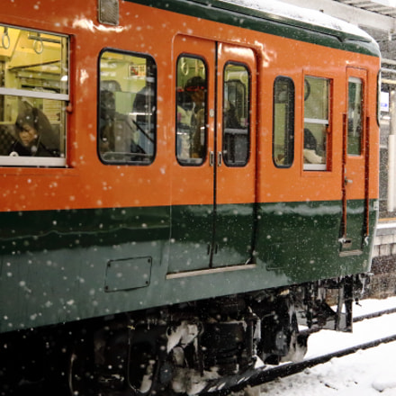 Snow country train, Canon EOS 6D, Canon EF 24-105mm f/3.5-5.6 IS STM