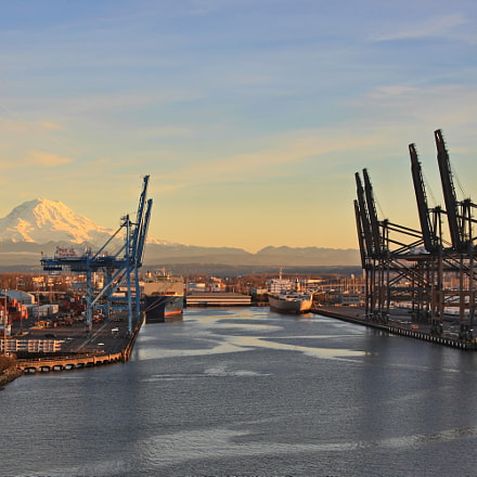Port of Tacoma, Canon EOS-1DS MARK III, Canon EF 24-105mm f/4L IS