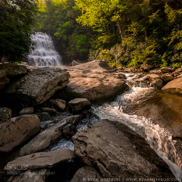 Photograph Muddy Falls by Ryan Heffron on 500px