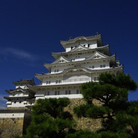 Himeji Castle, Pentax K20D, Sigma 12-24mm F4.5-5.6 EX DG