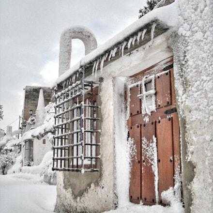 Snow in Chinchilla ❄️, Nikon COOLPIX L18