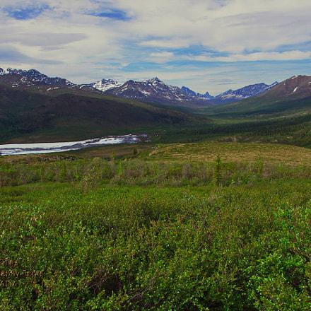 Tombstone Range, Yukon, Pentax K-X, smc PENTAX-DA 18-250mm F3.5-6.3 ED AL [IF]