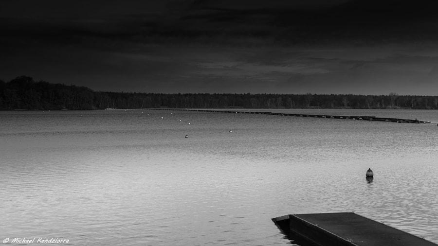 The Lake B&W by Michael Kendziorra on 500px.com